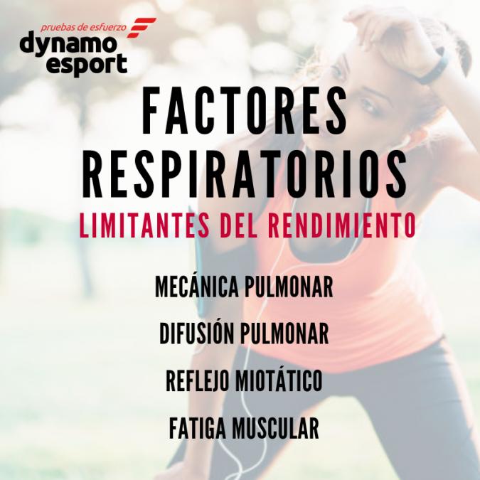 Factores respiratorios limitantes del rendimiento