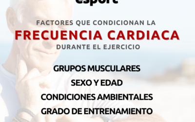 Factores que influyen en la frecuencia cardiaca durante el ejercicio